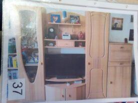 Möbestück 37 Wohnzimmerschrank 250 x210x28 cm